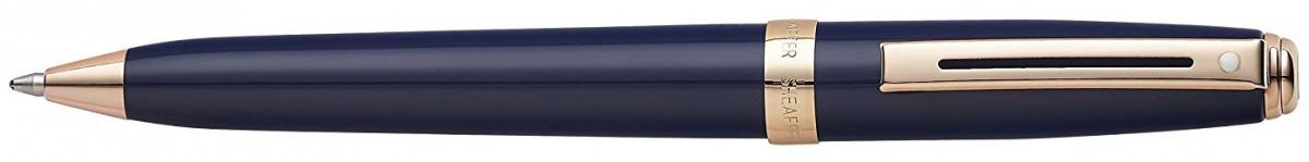 Sheaffer Prelude Ballpoint Pen - Cobalt Blue Rose Gold Trim