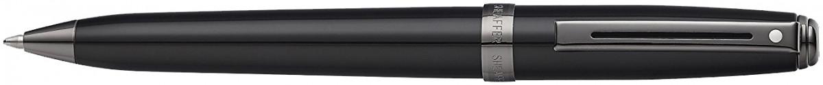 Sheaffer Prelude Ballpoint Pen - Gloss Black Gunmetal Trim
