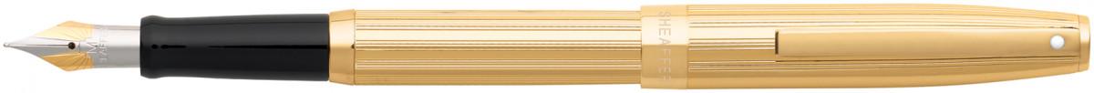 Sheaffer Sagaris Fountain Pen - Fluted Gold