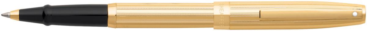 Sheaffer Sagaris Rollerball pen - Fluted Gold