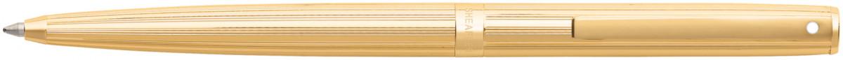 Sheaffer Sagaris Ballpoint Pen - Fluted Gold