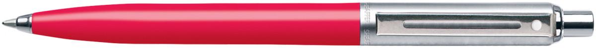 Sheaffer Sentinel Ballpoint Pen - Deep Pink Nickel Trim