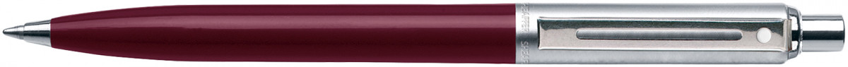 Sheaffer Sentinel Ballpoint Pen - Burgundy Nickel Trim