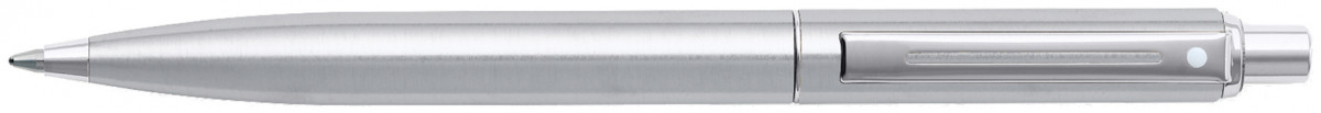 Sheaffer Sentinel Ballpoint Pen - Brushed Steel Chrome Trim