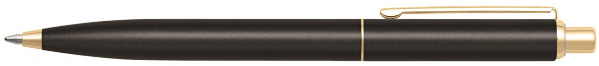 Sheaffer Sentinel Ballpoint Pen - Matte Black Gold Trim