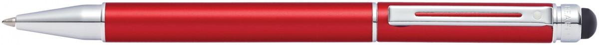 Sheaffer Switch Ballpoint Pen - Metallic Red Chrome Trim