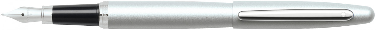 Sheaffer VFM Fountain Pen - Strobe Silver Chrome Trim