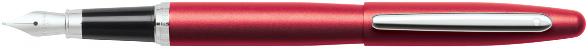 Sheaffer VFM Fountain Pen - Excessive Red Chrome Trim