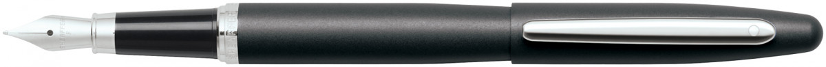 Sheaffer VFM Fountain Pen - Matte Black Chrome Trim