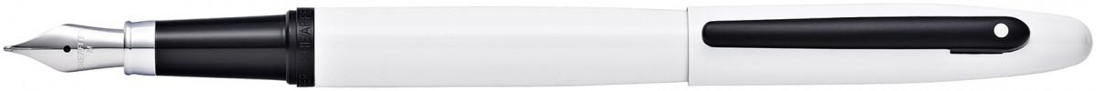 Sheaffer VFM Fountain Pen - White Lacquer Black Trim