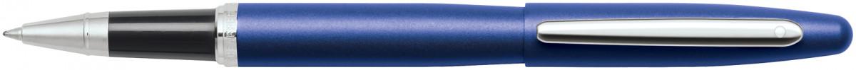 Sheaffer VFM Rollerball Pen - Neon Blue Chrome Trim