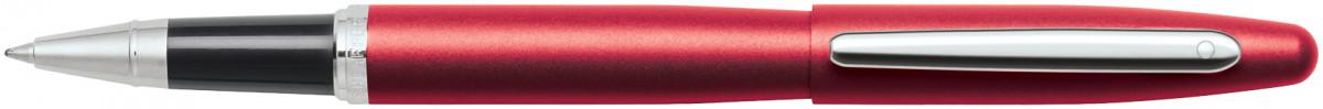 Sheaffer VFM Rollerball Pen - Excessive Red Chrome Trim