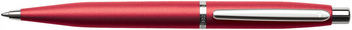 Sheaffer VFM Ballpoint Pen - Excessive Red Chrome Trim