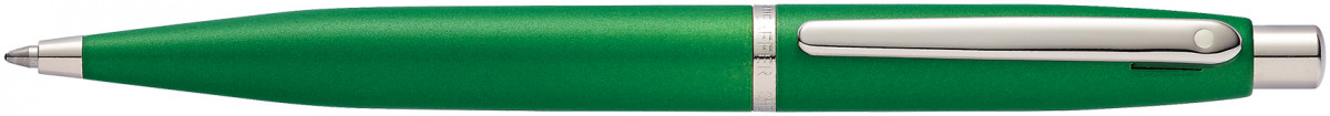 Sheaffer VFM Ballpoint Pen - Very Green Chrome Trim