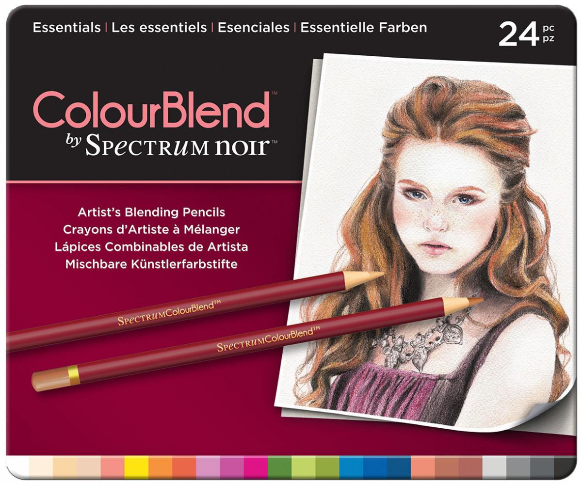 Spectrum Noir Colourblend Pencils - Essentials (Tin of 24)