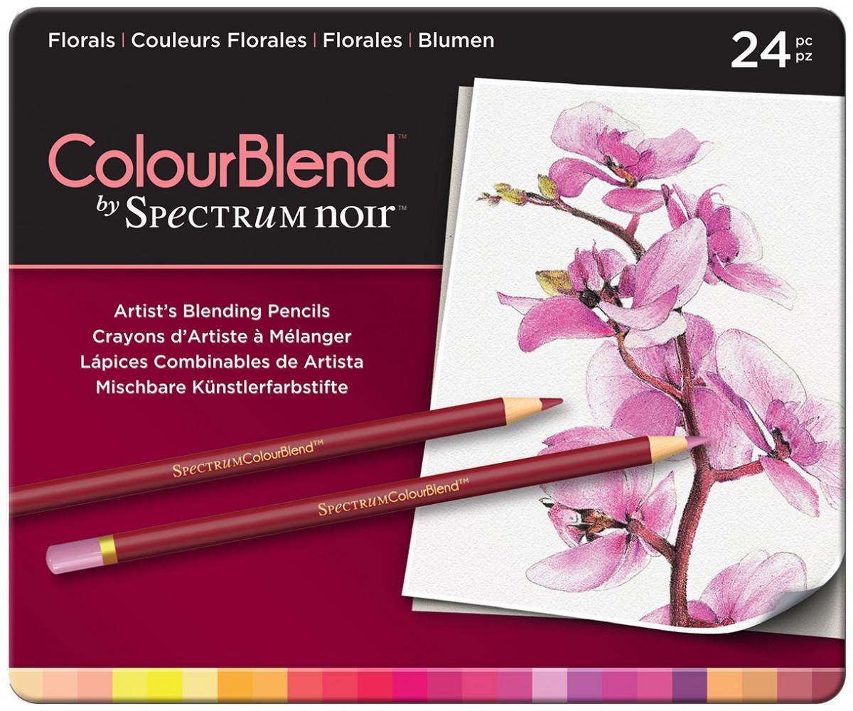 Spectrum Noir Colourblend Pencils - Florals (Tin of 24)