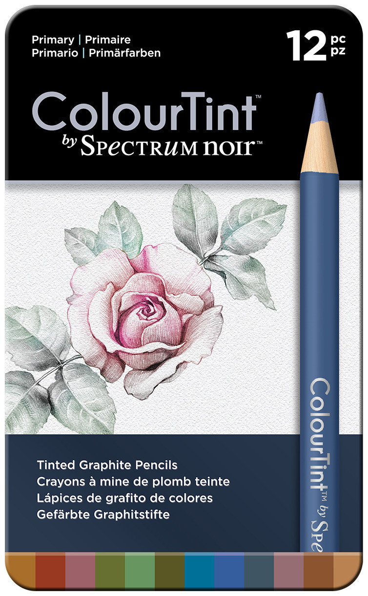 Spectrum Noir ColourTint Pencils - Primary (Tin of 12)