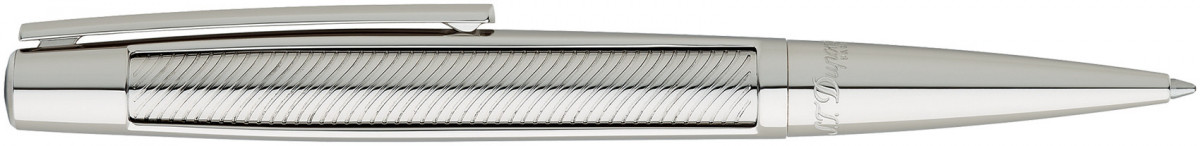 S.T. Dupont Defi Ballpoint Pen - Stainless Steel & Palladium
