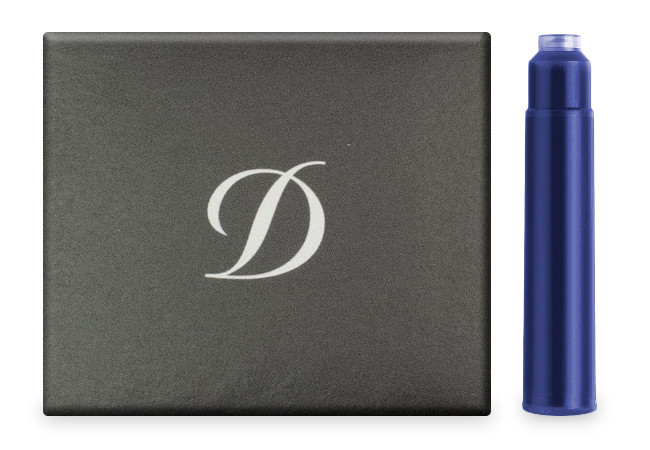 S.T. Dupont Ink Cartridges - Royal Blue