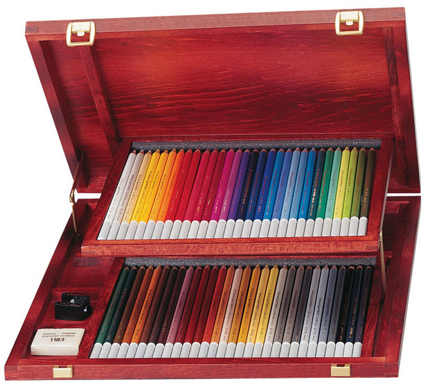 Stabilo Carbothello Colouring Pencils - Assorted Colours (Wooden Case of 60)