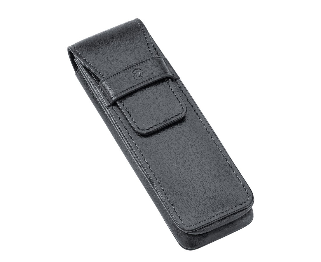 Staedtler Premium Double Leather Pen Pouch - Black