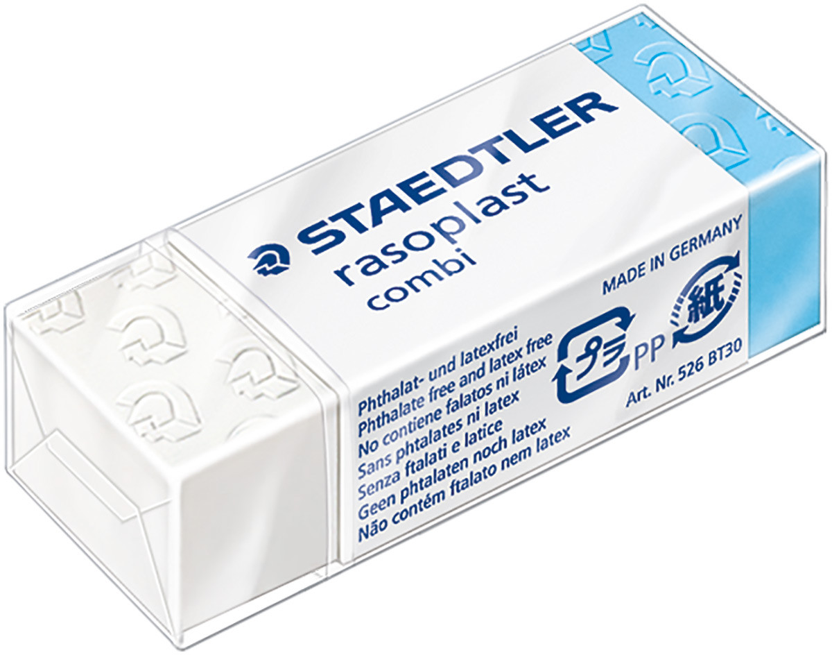 Staedtler Rasoplast Combi Eraser for Ink/Lead