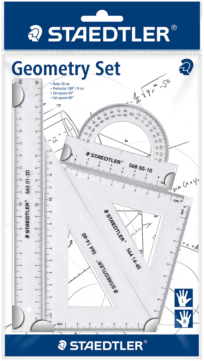 Staedtler Geometry Set - 4 Pieces