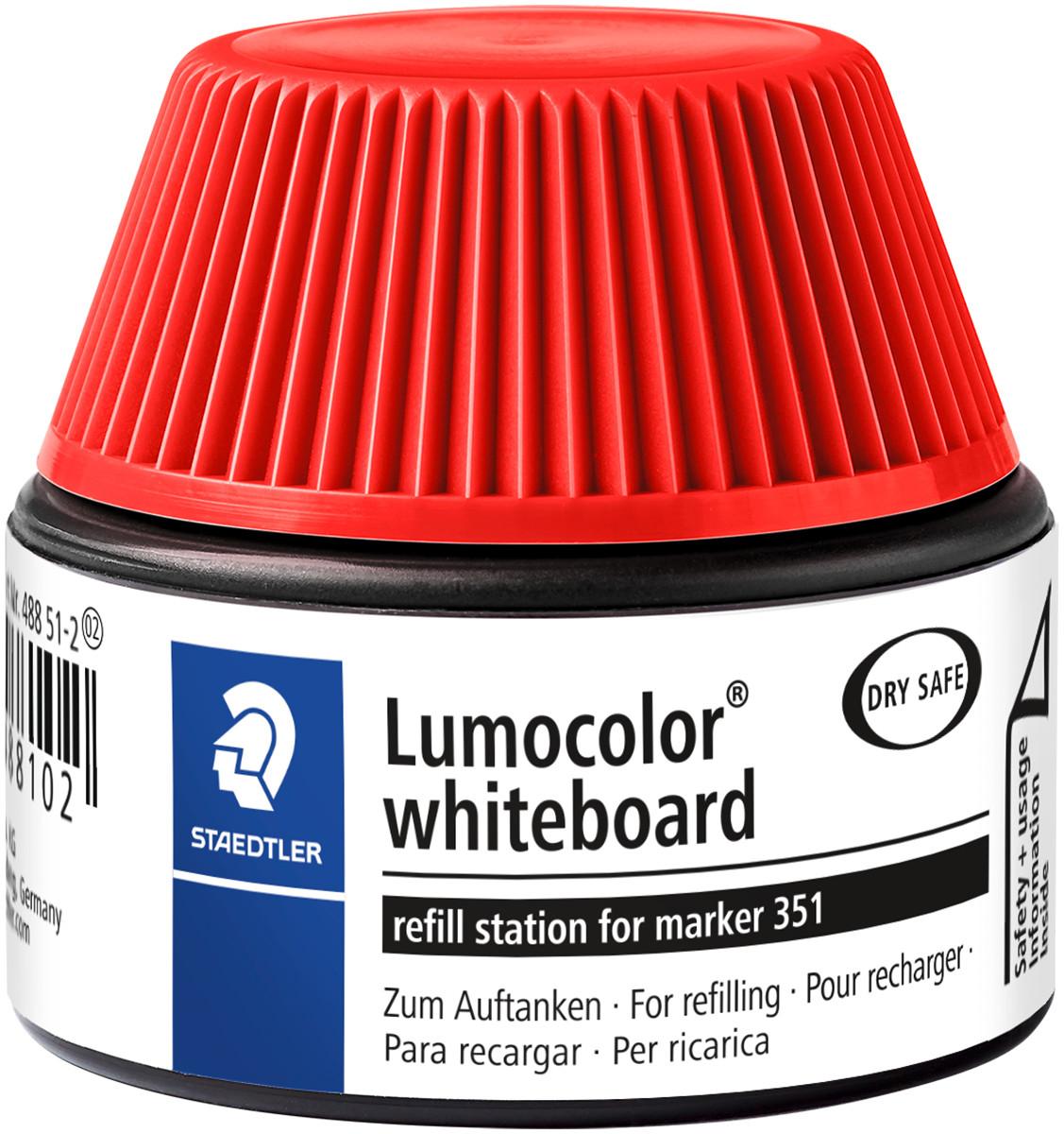 STAEDTLER Nachfülltinte Lumocolor permanent marker blau NEU /& OVP 488 50-3