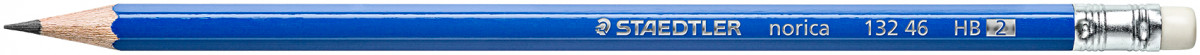 Staedtler Norica Pencil with Eraser Tip - HB