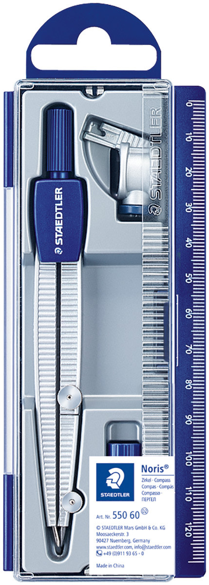 Staedtler Noris Club - School Compass plus Universal Adaptor