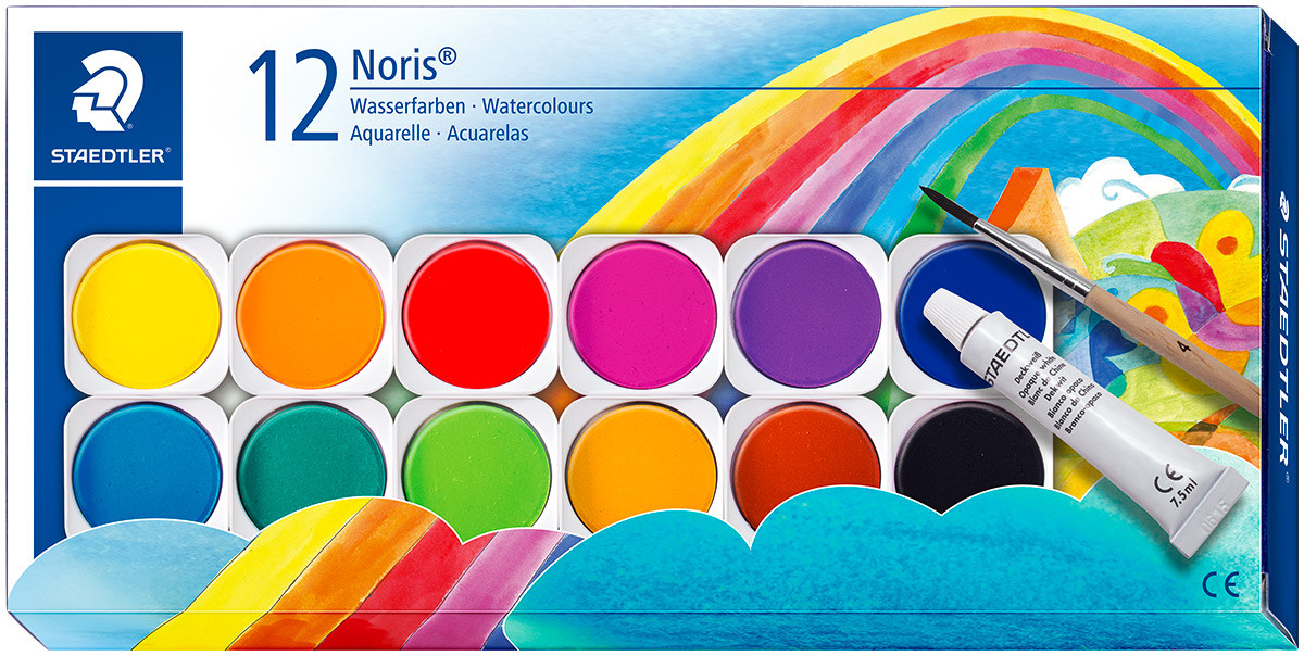 Staedtler Noris Club Water Colours Set
