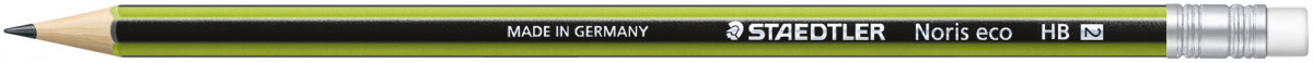 Staedtler Noris Eco Pencil with Eraser Tip