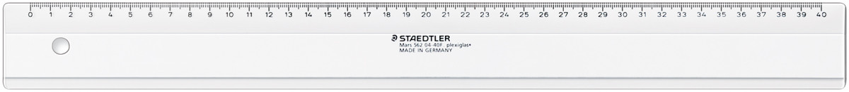 Staedtler Mars Plastic Ruler - 40cm