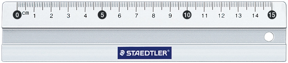Staedtler Mars Metal Ruler - 15cm