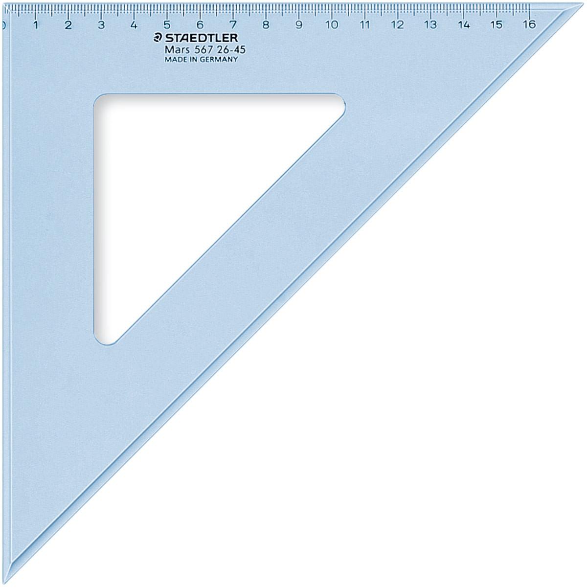 Staedtler Mars Set Square - 25cm 45°/45°