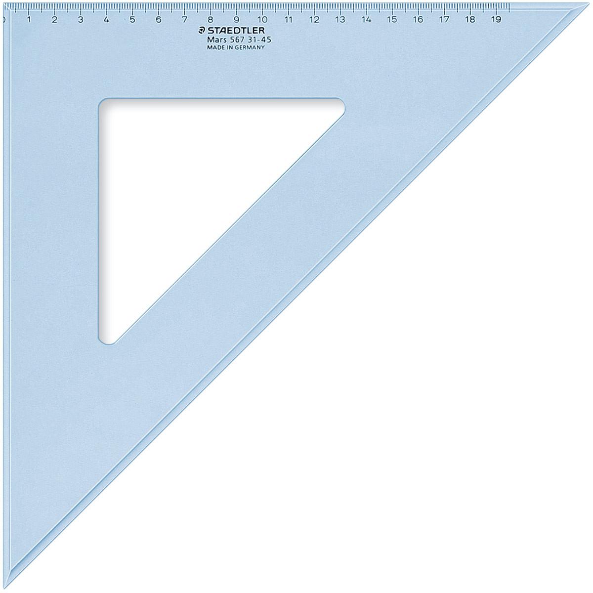 Staedtler Mars Set Square - 32cm 45°/45°