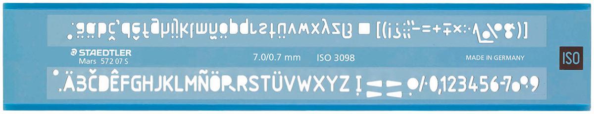 Staedtler Mars Lettering Guide - 7mm/0.7mm