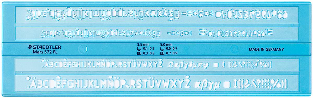 Staedtler Mars Lettering Guide - Fineliner