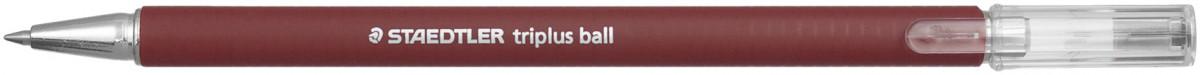 Staedtler Triplus Ballpoint Pen - Medium - Red