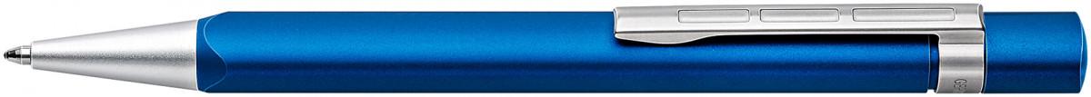 Staedtler TRX Ballpoint Pen - Blue Chrome Trim