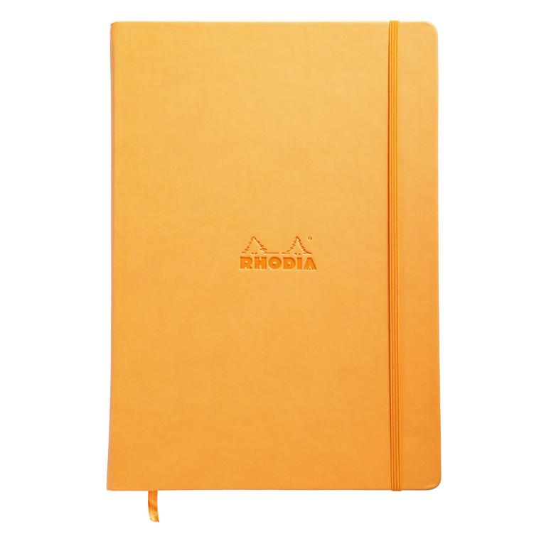 Rhodia Webnotebook- Large Orange - Dotted