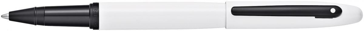 Sheaffer VFM Rollerball Pen - White Lacquer Black Trim