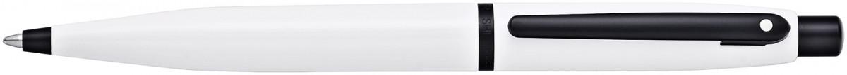 Sheaffer VFM Ballpoint Pen - White Lacquer Black Trim