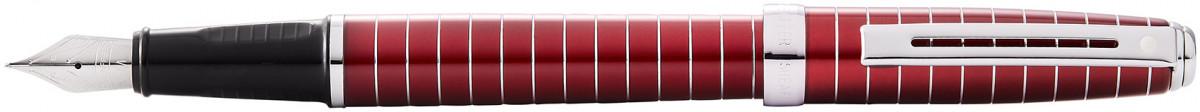 Sheaffer Prelude Fountain Pen - Merlot Red Chrome Rings