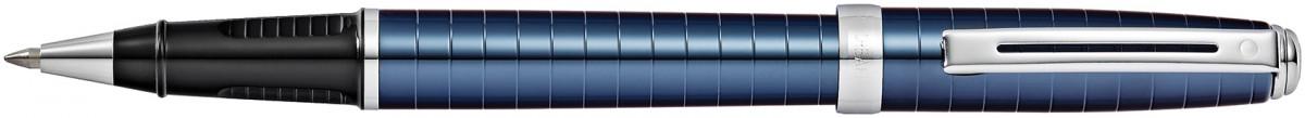 Sheaffer Prelude Rollerball Pen - Cobalt Blue Chrome Rings