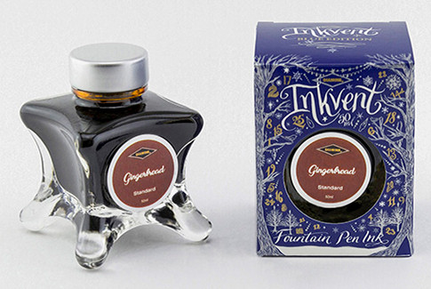 Diamine Inkvent Christmas Ink Bottle 50ml - Gingerbread