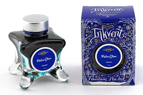Diamine Inkvent Christmas Ink Bottle 50ml - Polar Glow