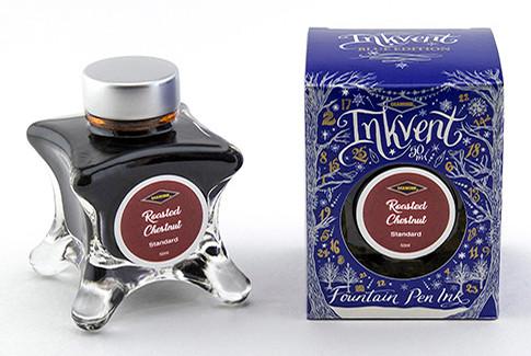 Diamine Inkvent Christmas Ink Bottle 50ml - Roasted Chestnut