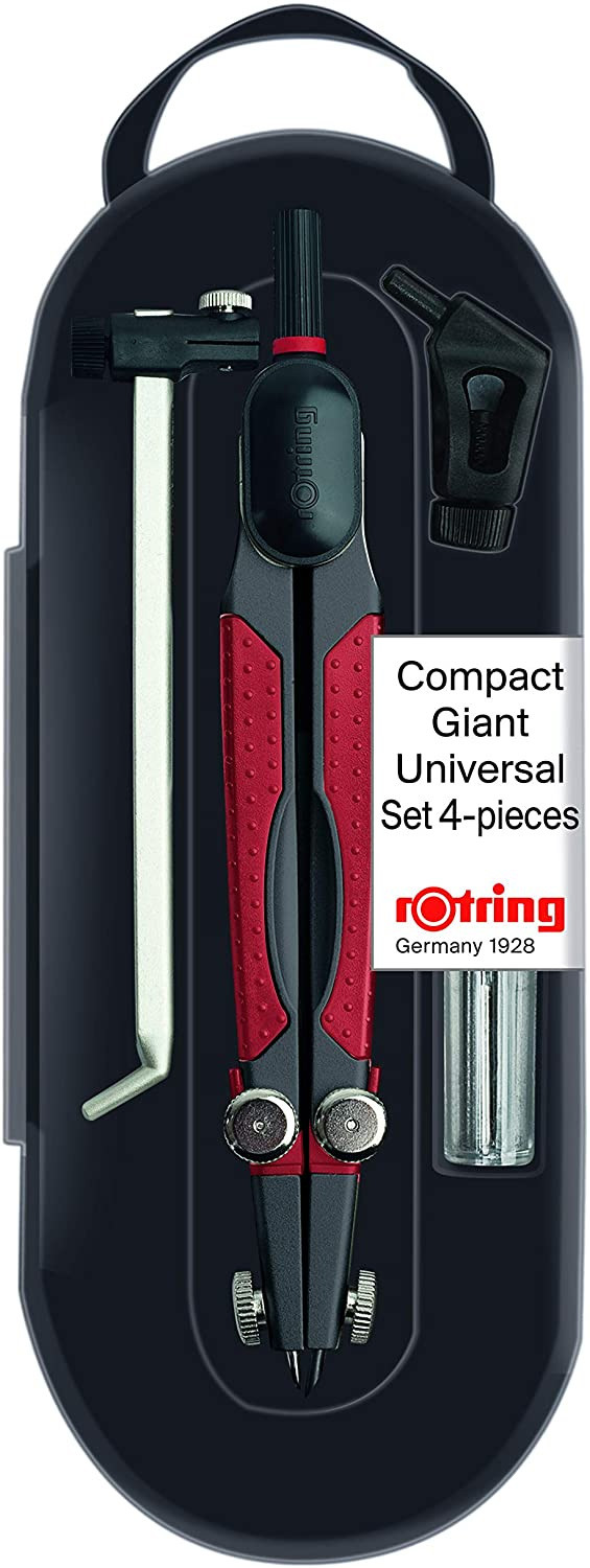 Rotring Compact Compass Universal Set - 4 Piece