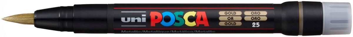 Uni-Ball PCF-350 Posca Paint Marker - Brush Tip